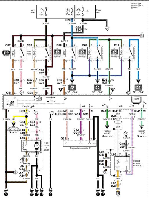Fujitsu Ten Car Stereo Wiring Diagram