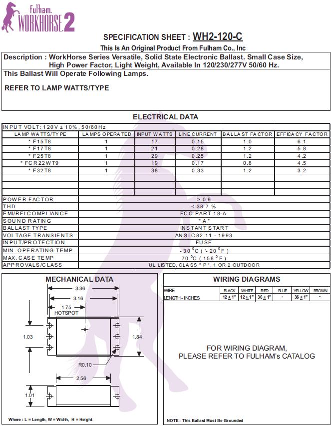 Workhorse Wh2 Ballast Wiring Diagram