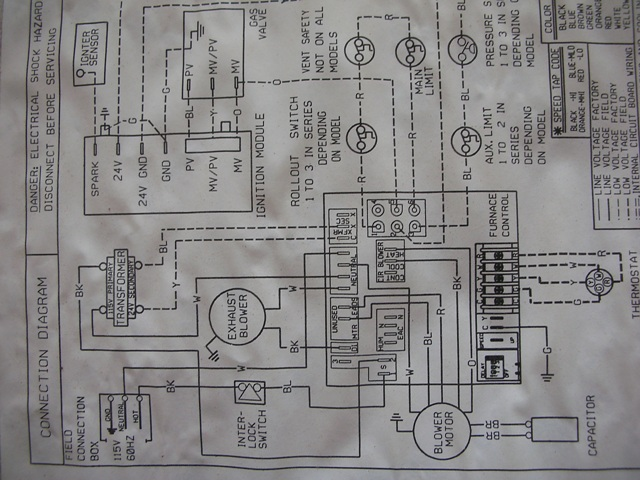 Furnace Blower Motor Wiring Diagram Vexar