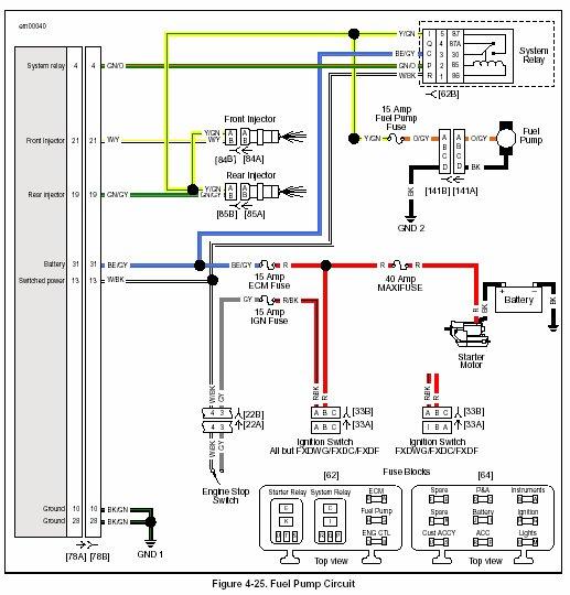 Fxdc Wiring Diagram on