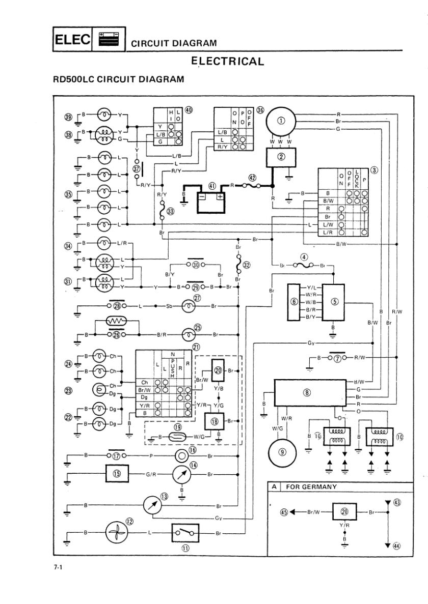 Fzr 250 Wiring Diagram