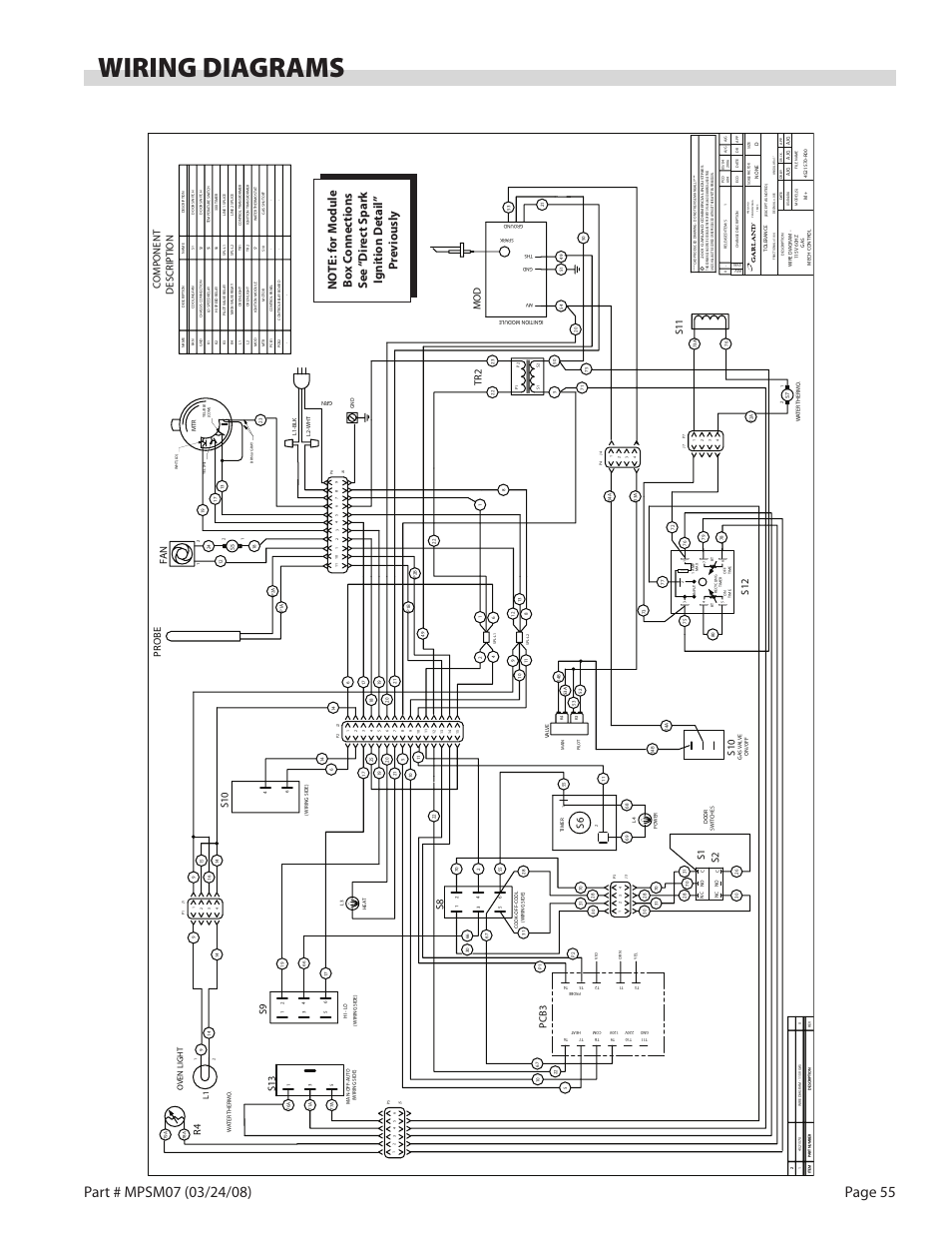 garland mwe2w wiring diagram