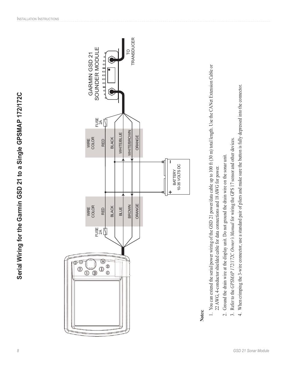 Garmin 172c Power Cable Wiring Diagram
