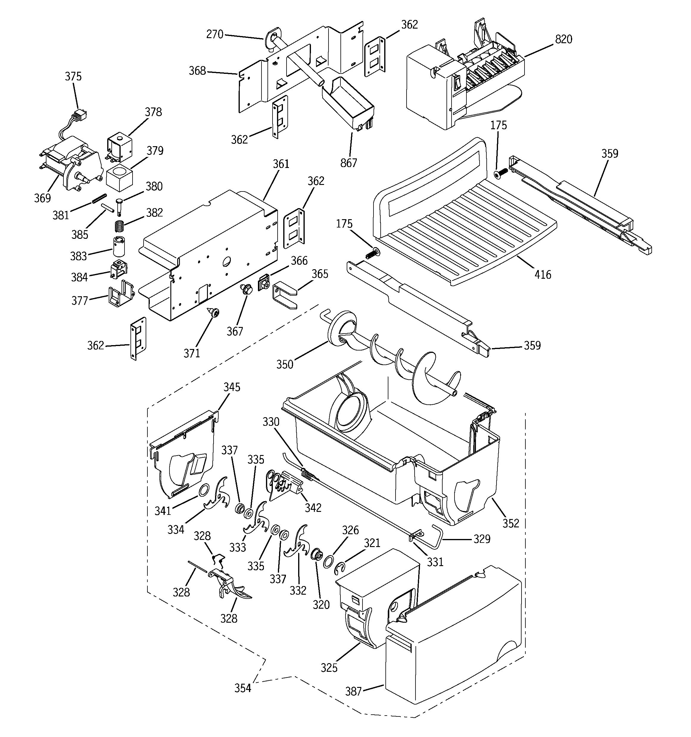 Ge Refrigerator Wiring Diagram Hts22