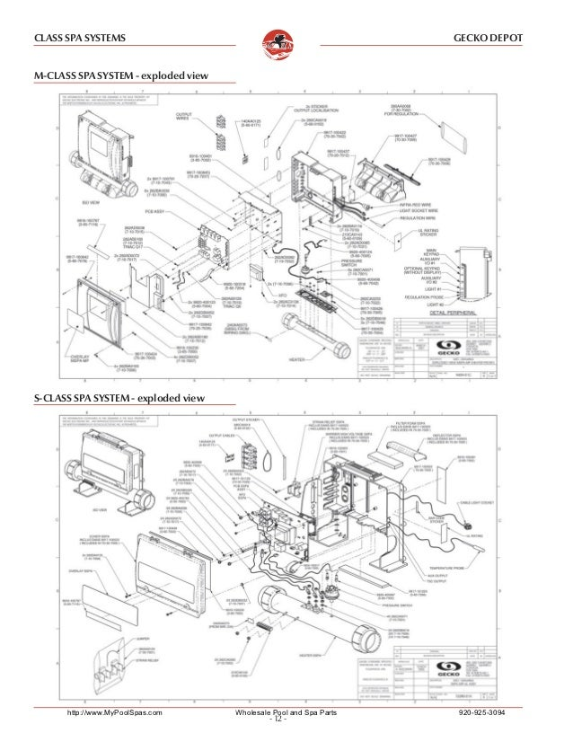 Gecko G203v Wiring Diagram