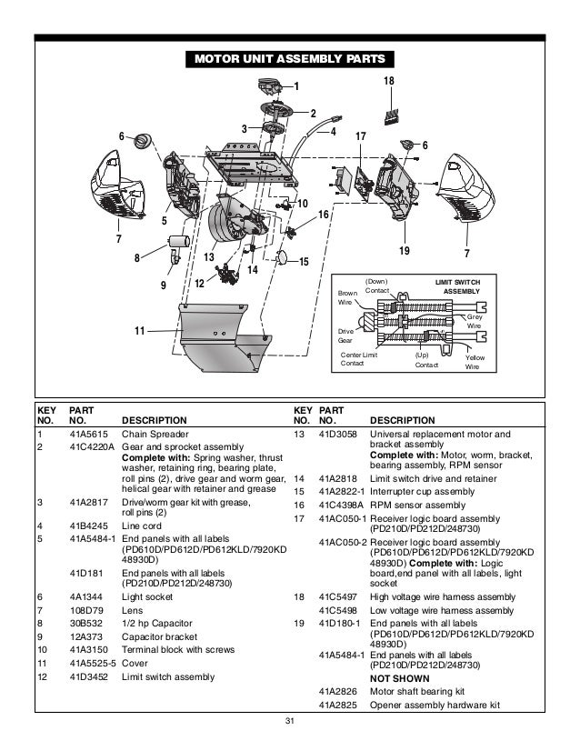 Genie Is550 A Wiring Diagram