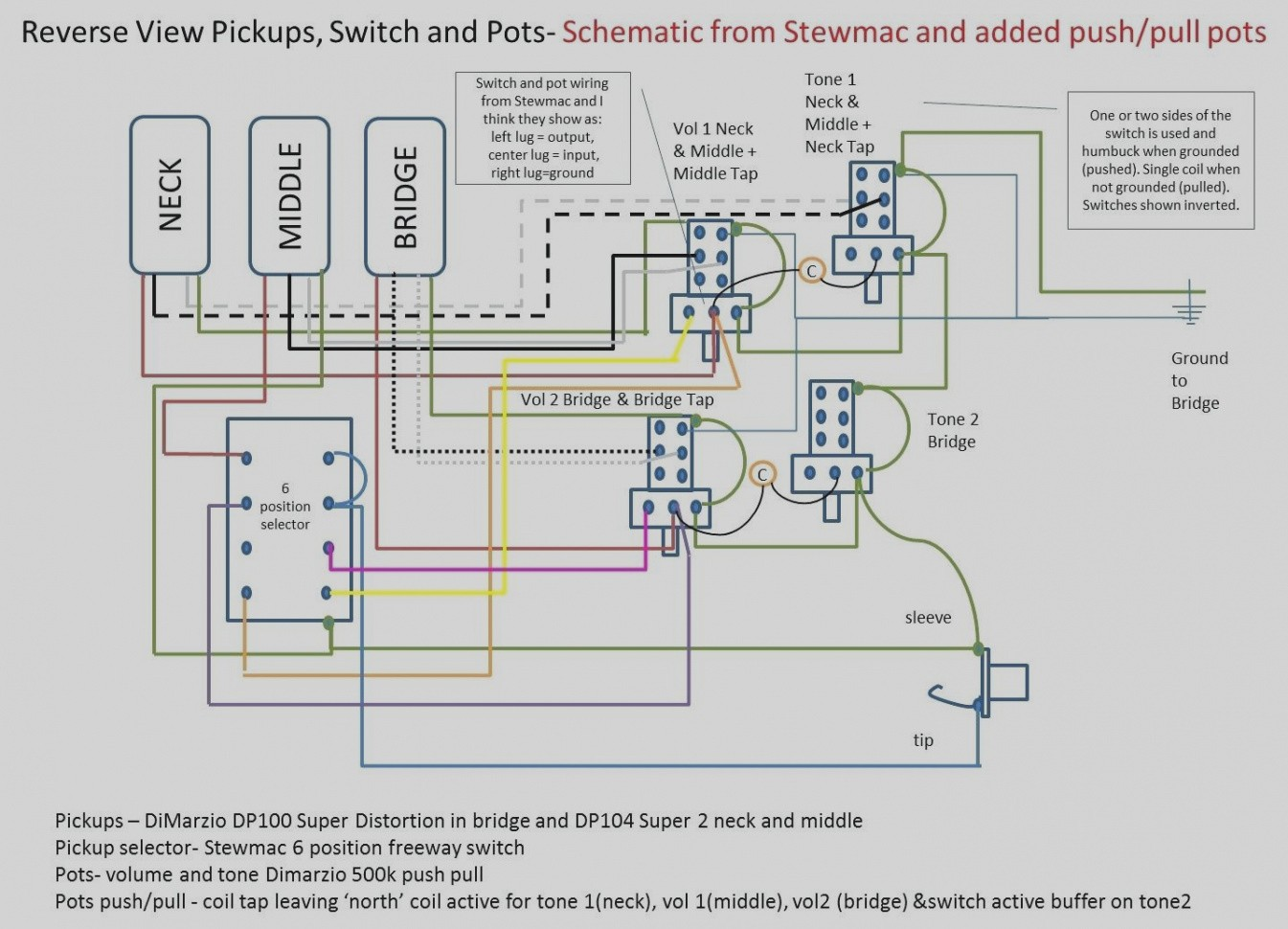 Gibson Coil Tap Cts Pot Wiring Diagram