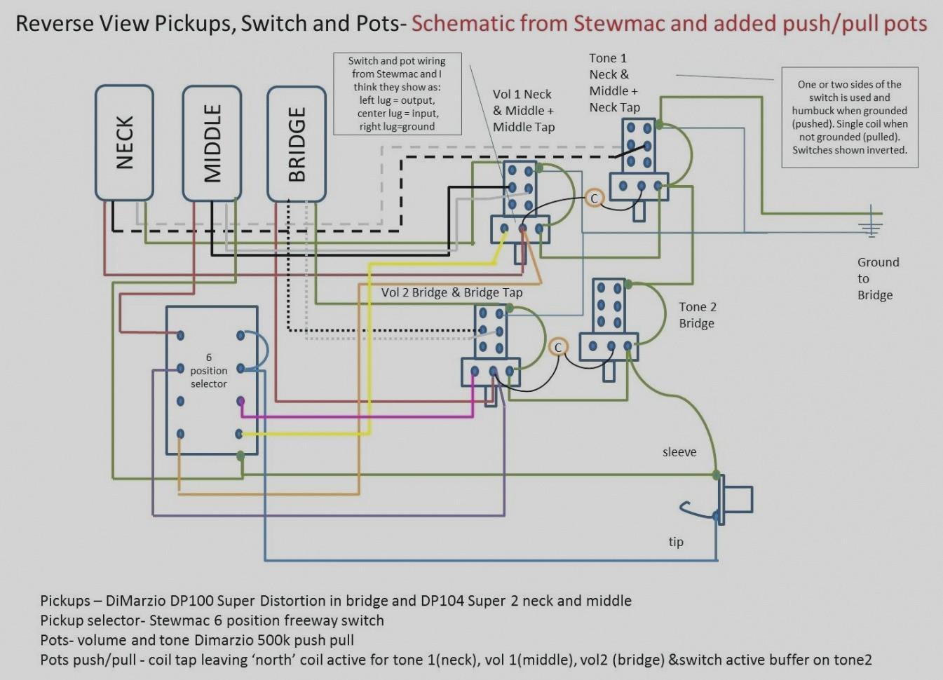 3 pot wiring diagram gibson wiring diagram  volume 1 tone guitar wiring diagrams