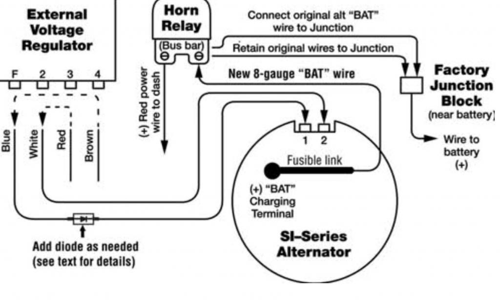 Diagram Gm Alternator Diagrams 12si Alternator Wiring