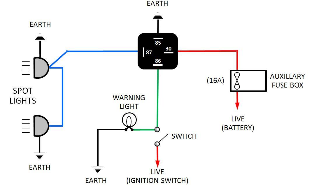diagram one circuit diagram on wiring multiple light