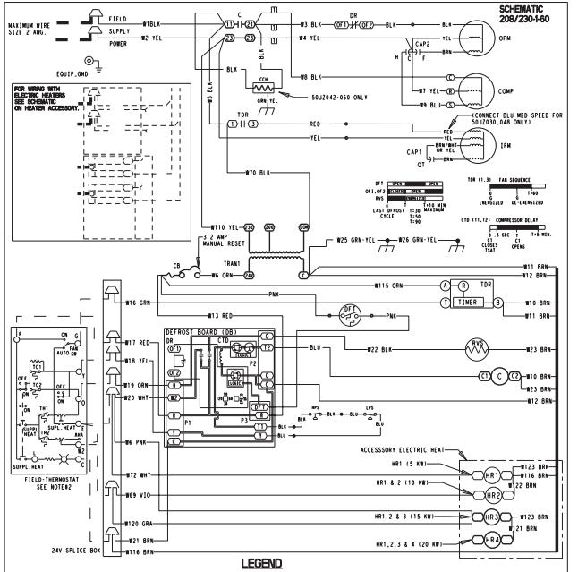 Goodman 10kw Heat Strip Wiring Diagram