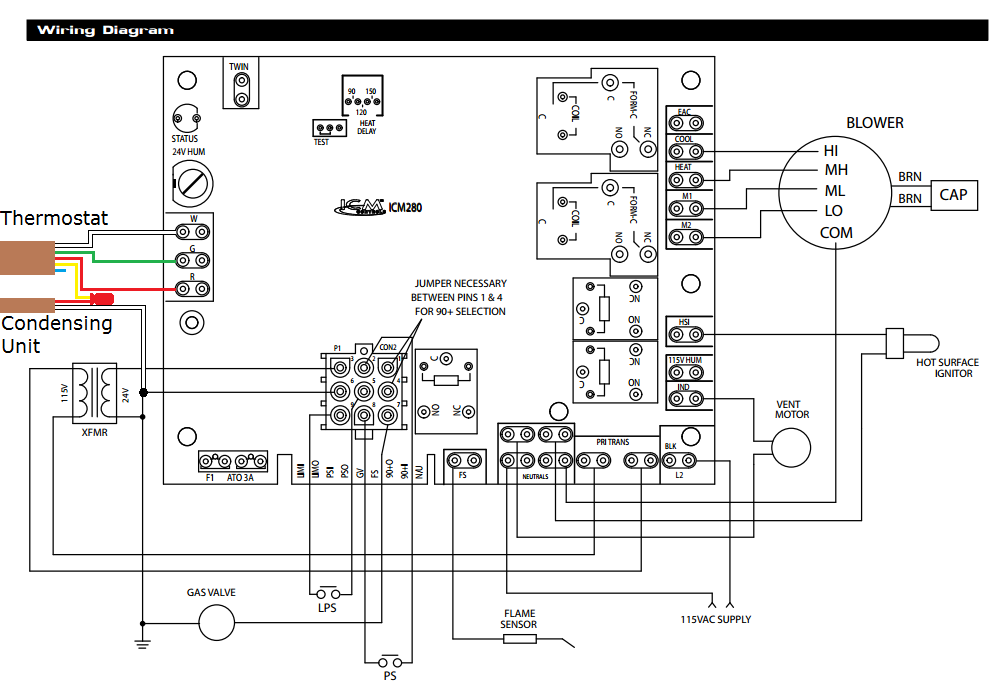 Diagram  Ruud Rhslhm3617ja Control Board Diagram Full