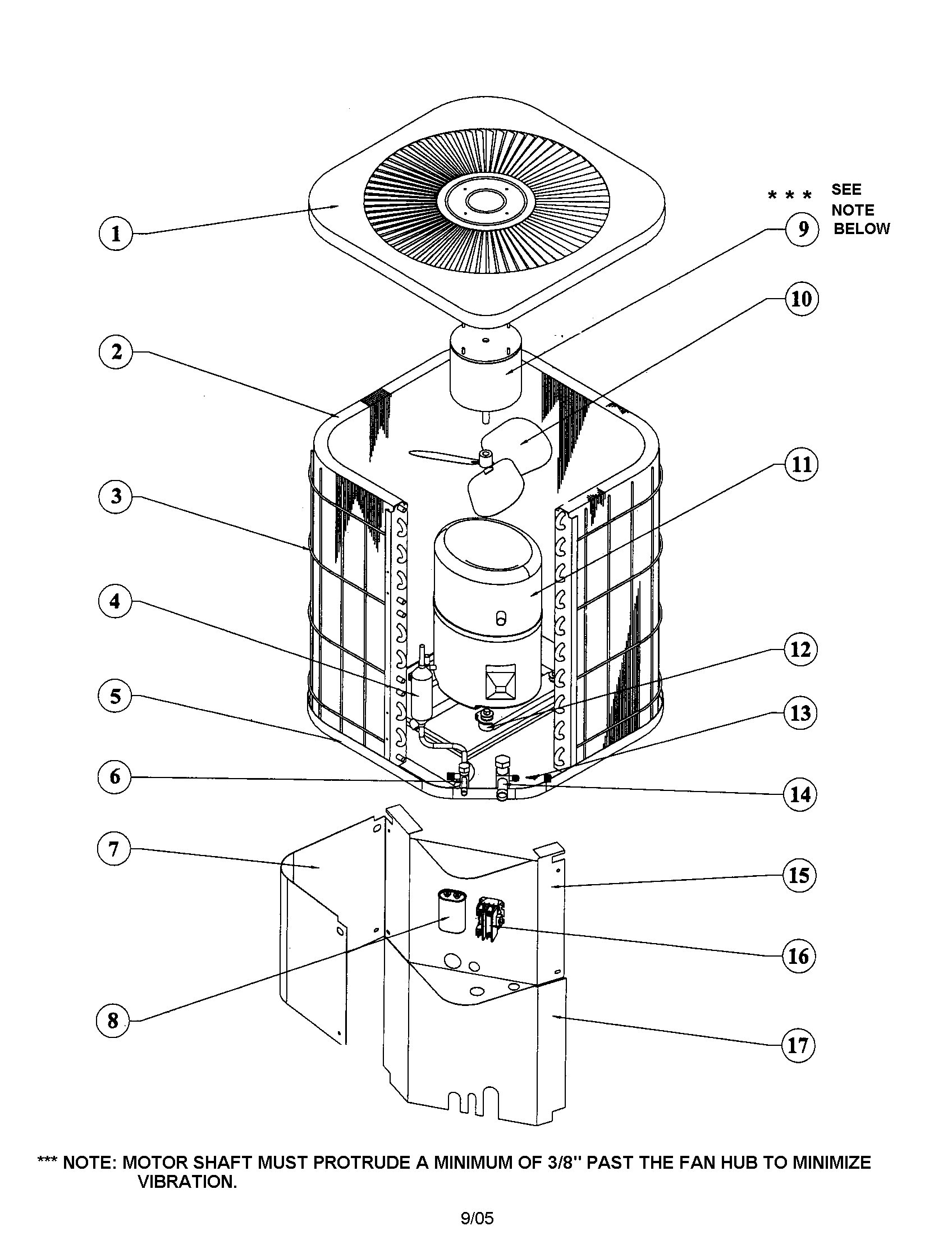 goodman condensing unit wiring diagram