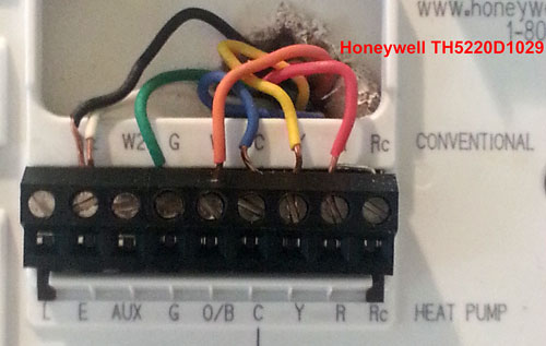 goodman heat pump thermostat wiring diagram to honeywell 5000 8 wire goodman heat pump thermostat wiring diagram to honeywell 5000 8 wire thermostat