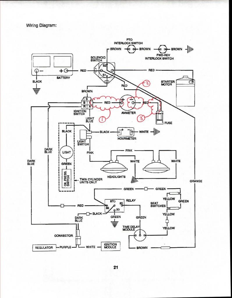 Gravely 260z Wiring Diagram
