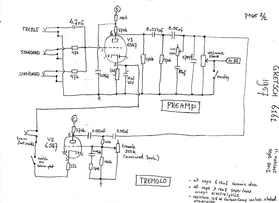Gretsch Electromatic Wiring Diagram