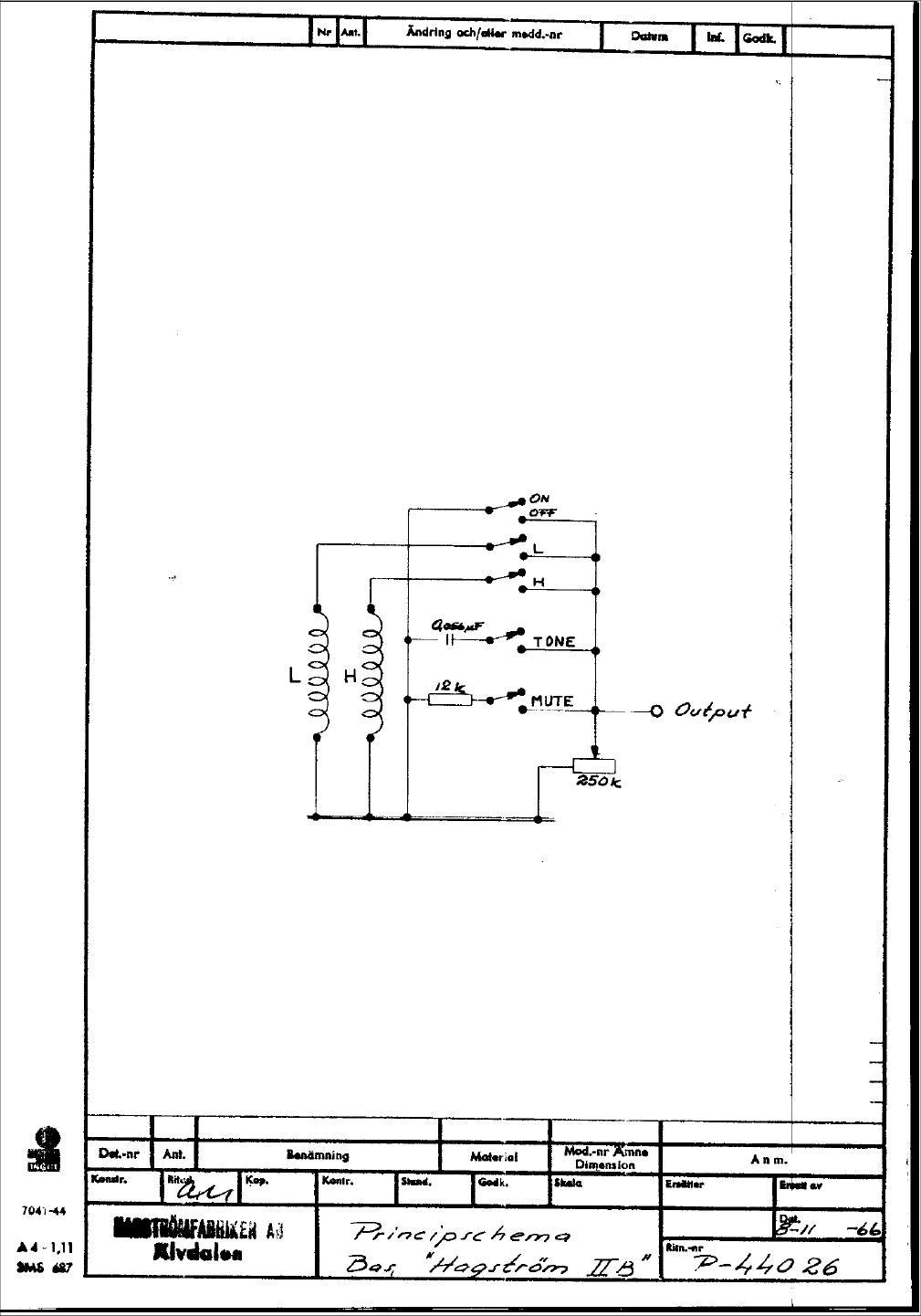 Ultra Jazz Wiring Diagram
