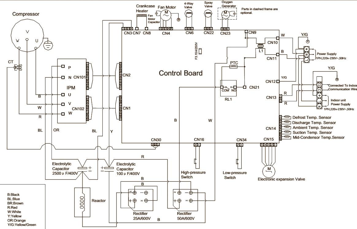 Haier Ac Compressor Wiring Diagram