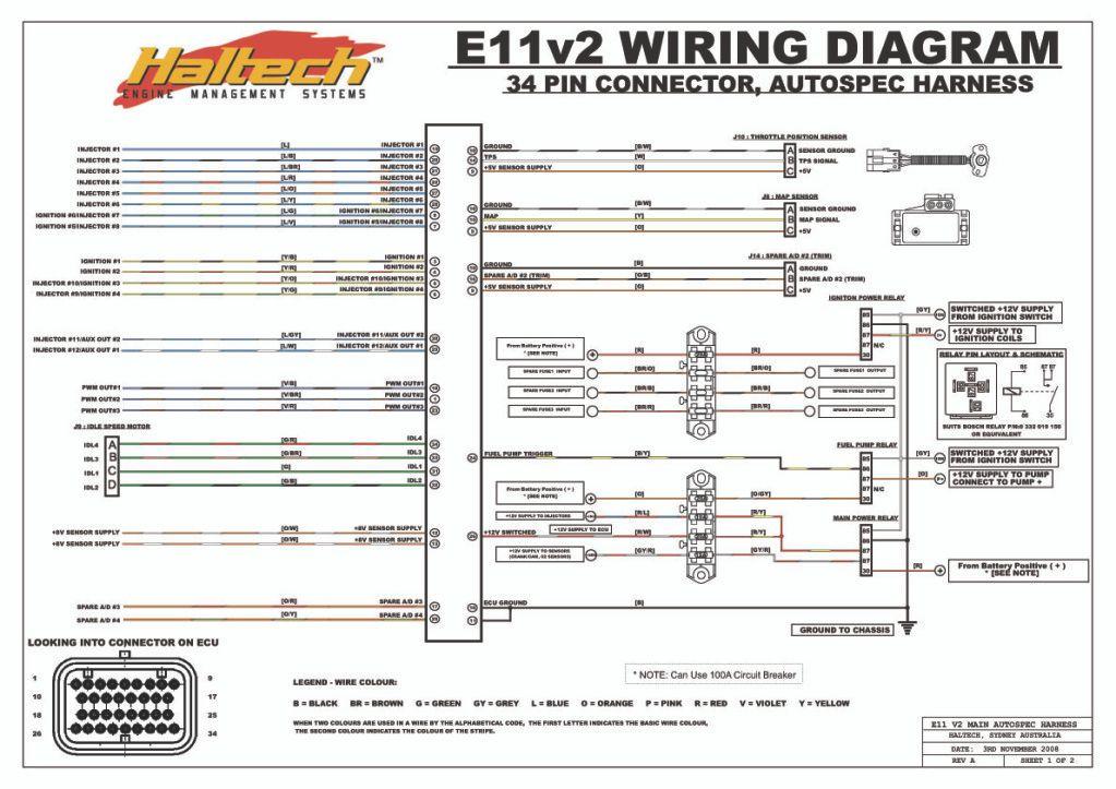 Haltech 13b Wiring Diagram