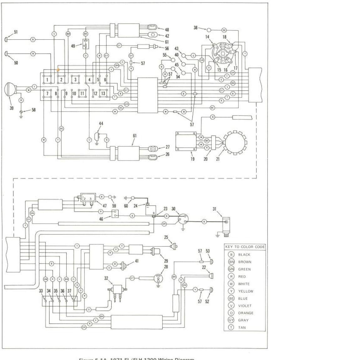 Harley Z90 Wiring Diagram