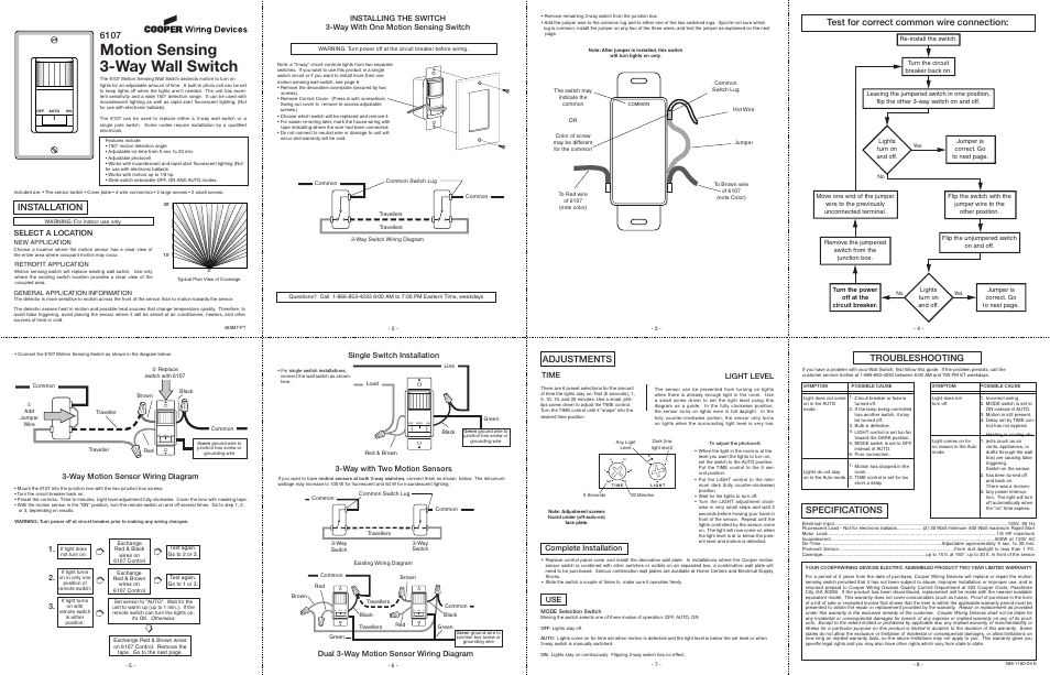 Heath Zenith Motion Sensor Wiring Diagram