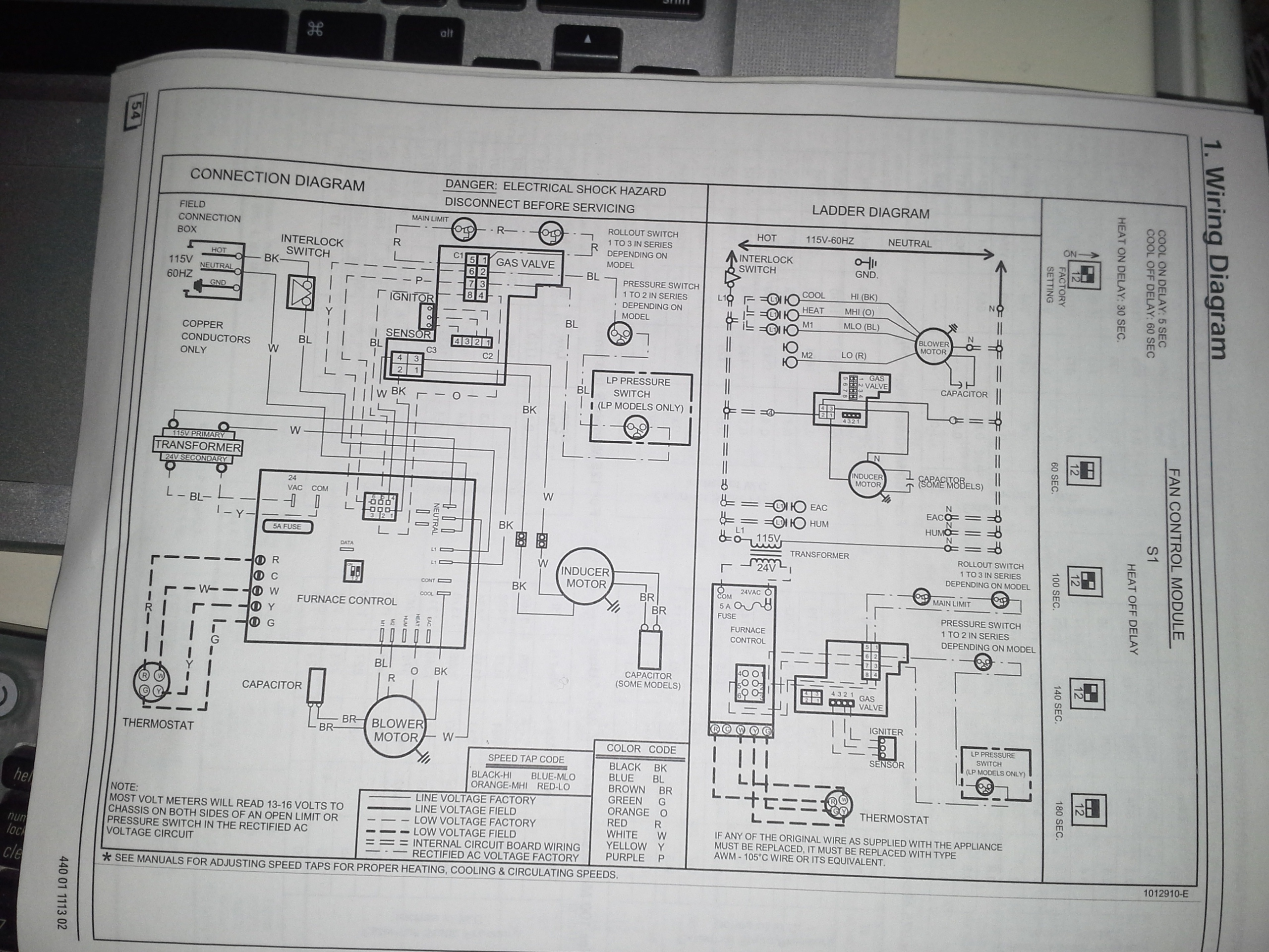 Heil Thermostat Model # Haxc004tw01 Wiring Diagram on