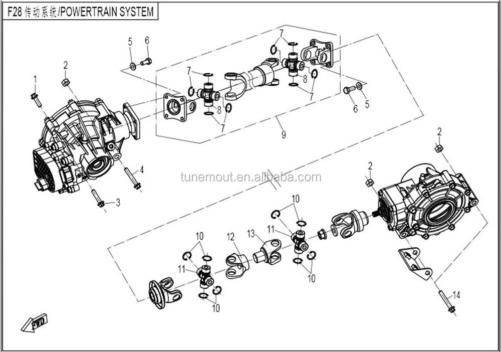 Hisun 500 Wiring Diagram