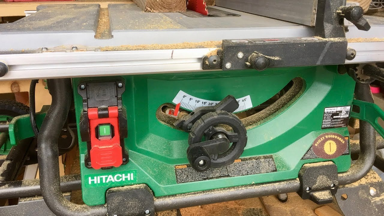 Hitachi C10rj Table    Saw       Wiring       Diagram