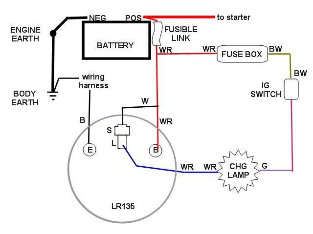 Hitachi Lr155-20 Alternator Wiring Diagram on
