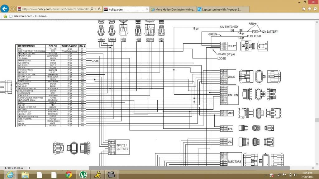Holley Wiring Harness - List of Wiring Diagrams on