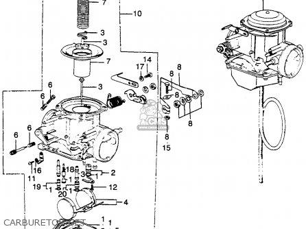 Honda 400ex Carburetor Diagram on