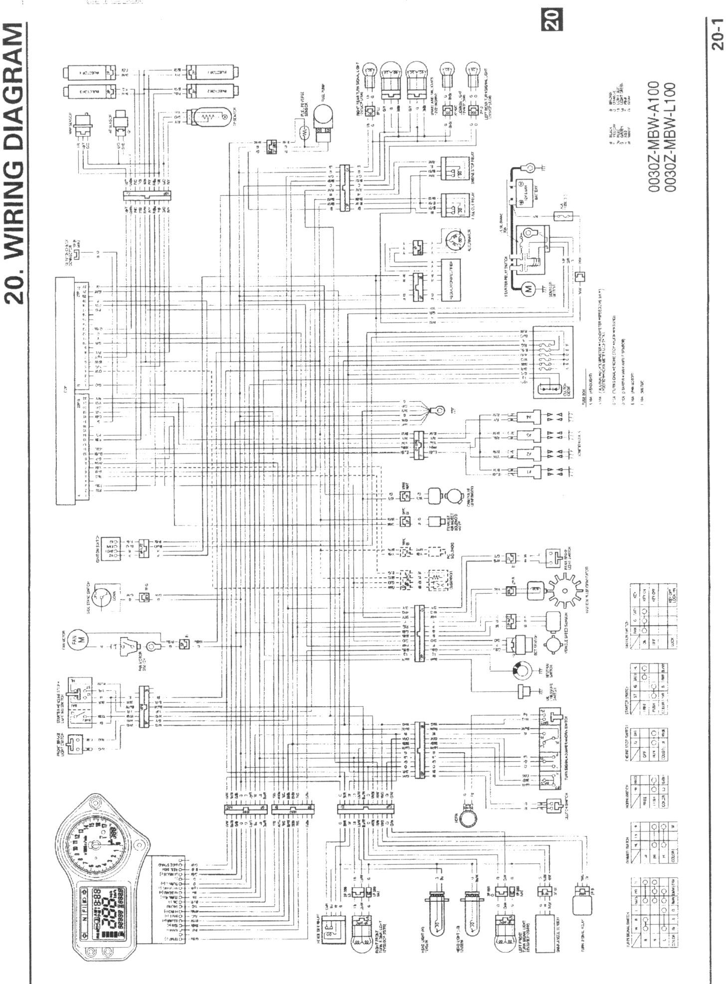 Honda F4i Wiring Diagram on