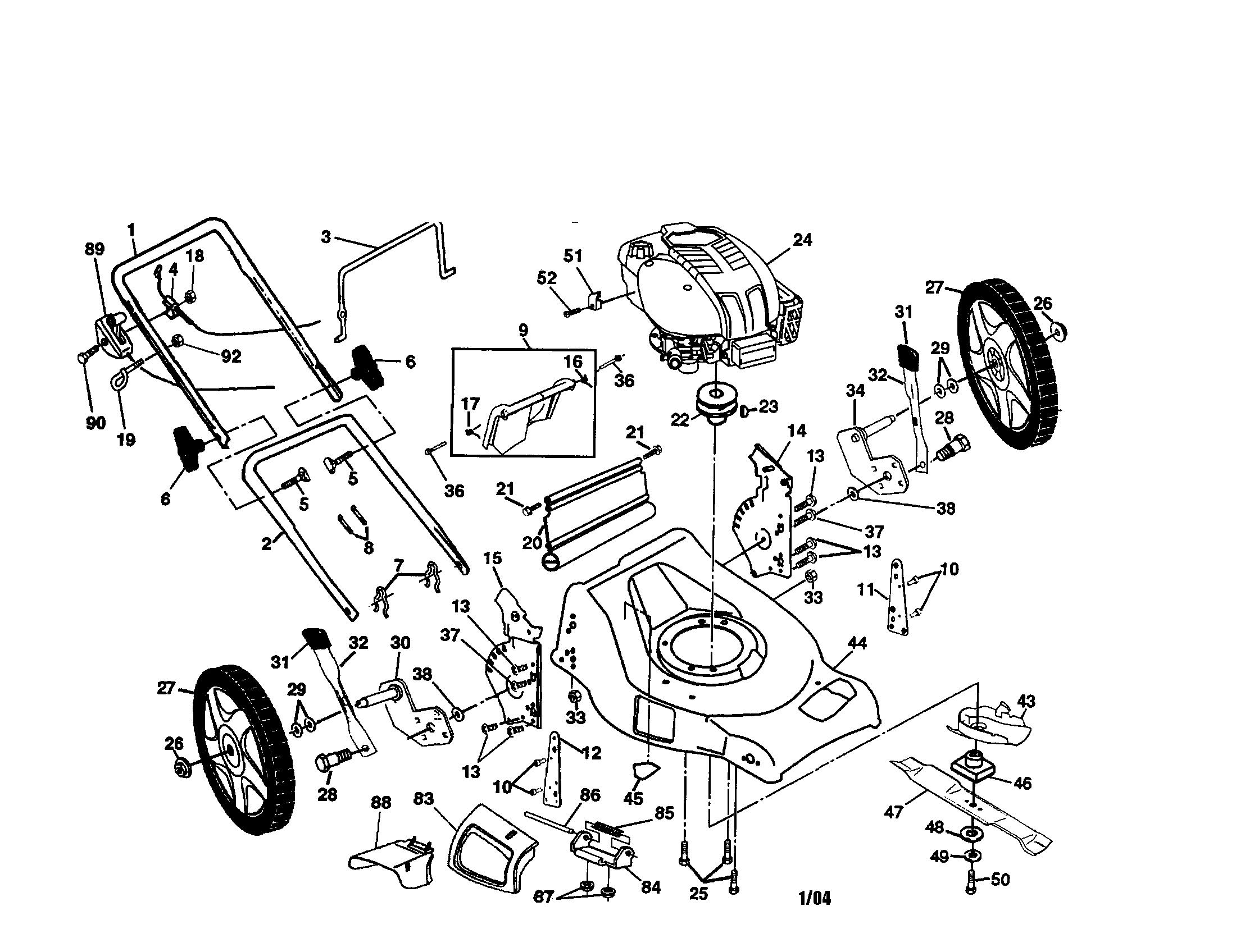 Honda Carb Diagram