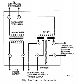 honeywell aquastat relay l8148e wiring diagram