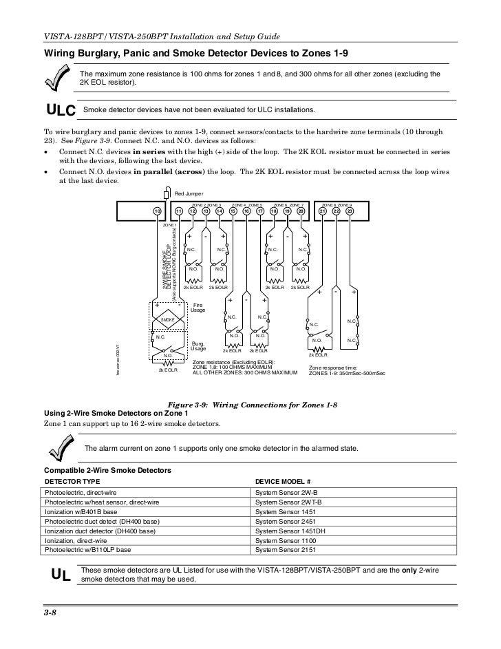 Honeywell Burglar Alarm Wiring Diagram on