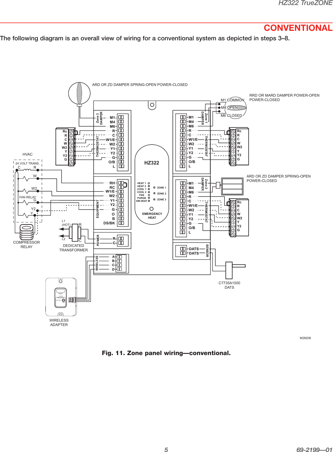 Diagram Honeywell Humidistat Wiring Diagram
