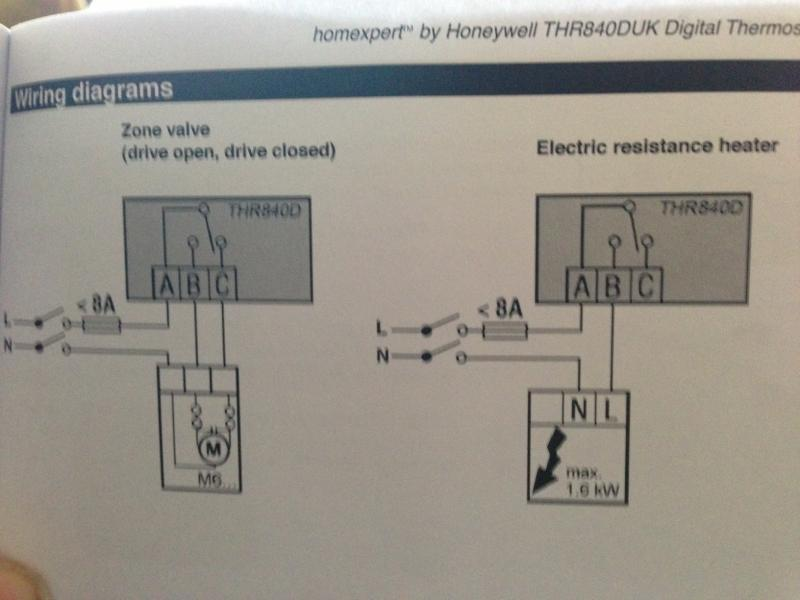 Honeywell Lr1620 Thermostat Wiring Diagram