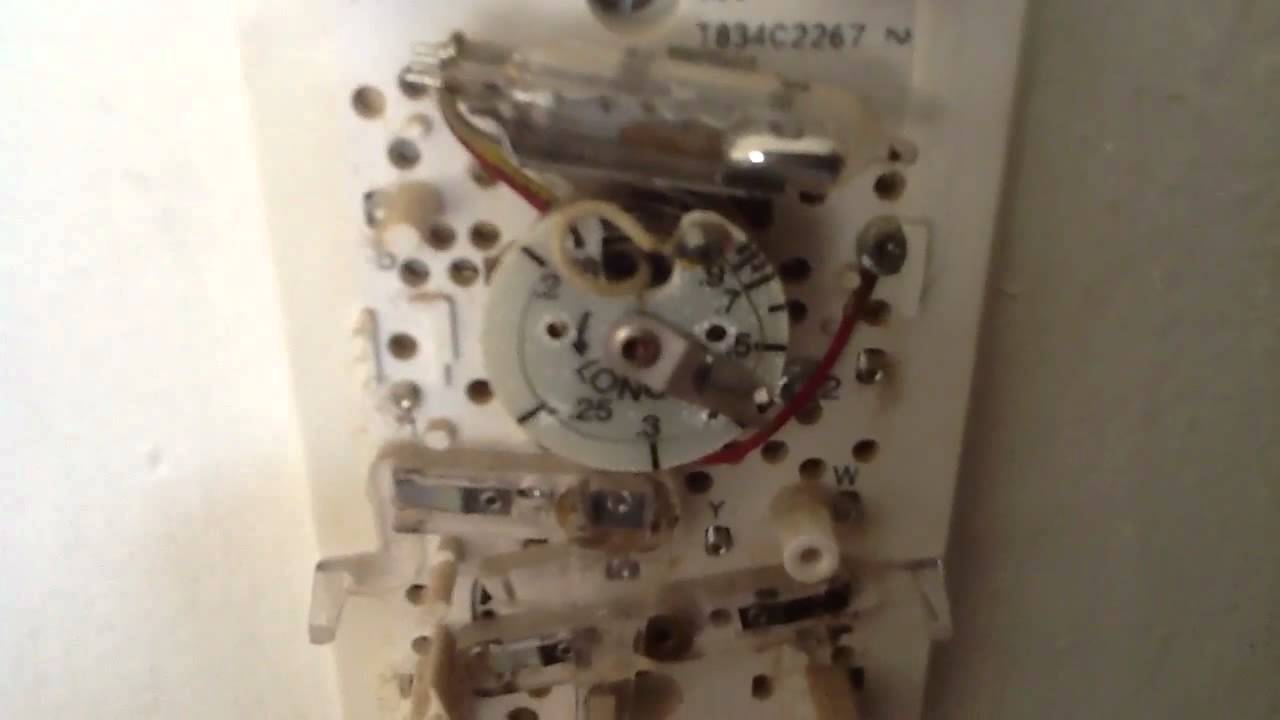 Old Honeywell Room Thermostat Wiring Diagram