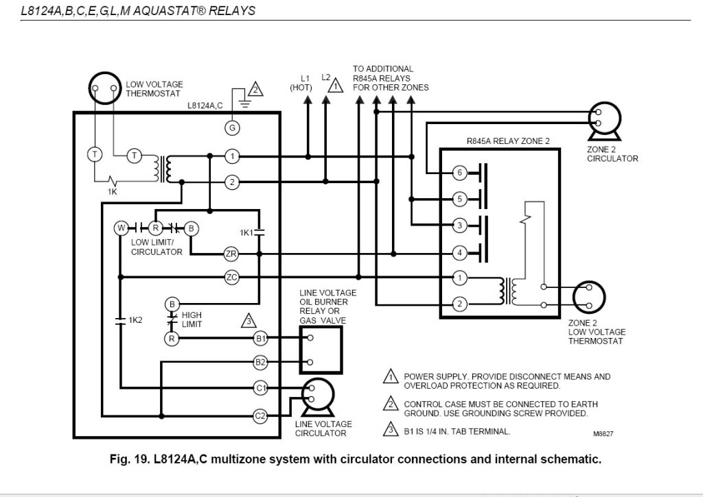 honeywell l8148e wiring diagram    honeywell    r845a1030    wiring       diagram        honeywell    r845a1030    wiring       diagram