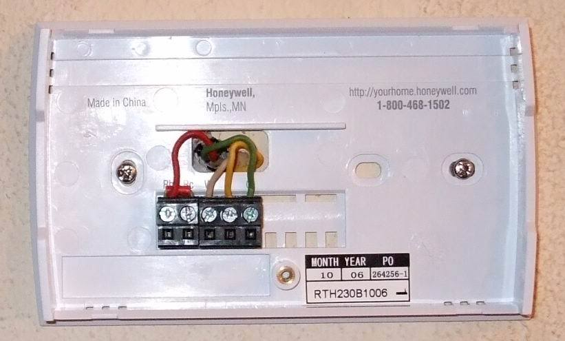 Honeywell Rth111 Wiring Diagram