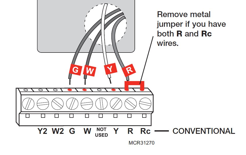 Honeywell Rth2300 Thermostat Wiring Diagram