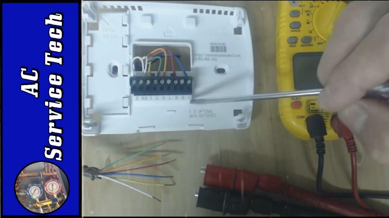 Honeywell Rth6360 Thermostat Wiring Diagram