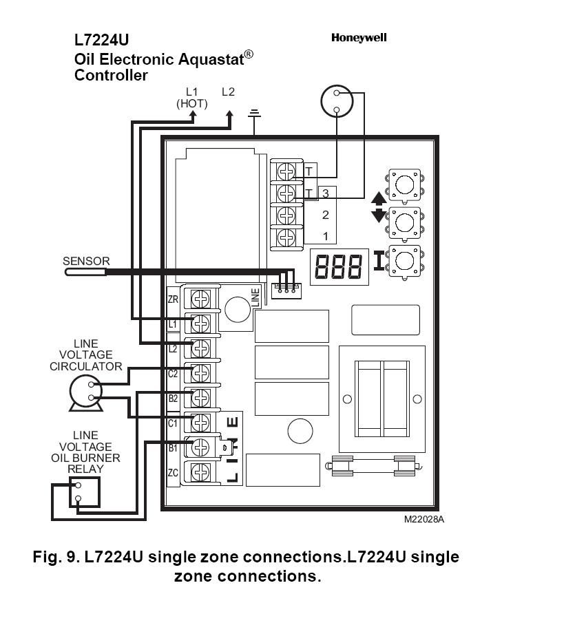 Diagram  Collection Of Honeywell Rth3100c1002 To A Wiring