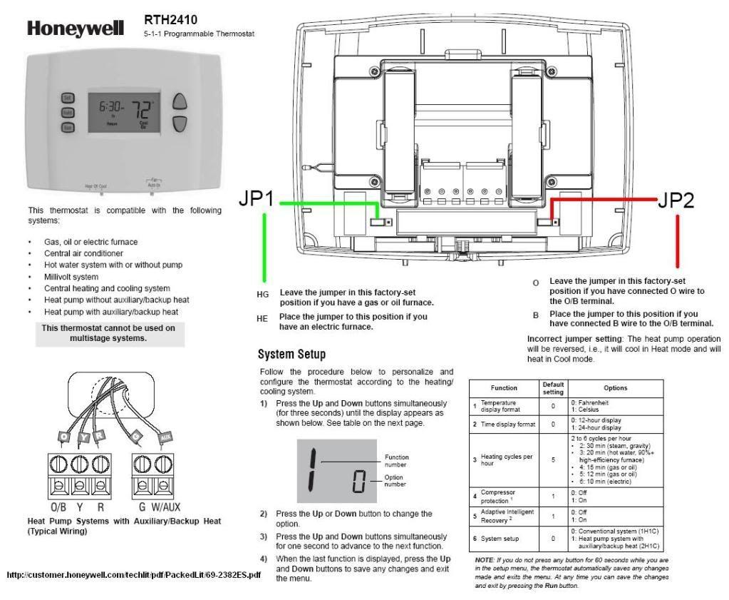 Honeywell T8602c Wiring Diagram