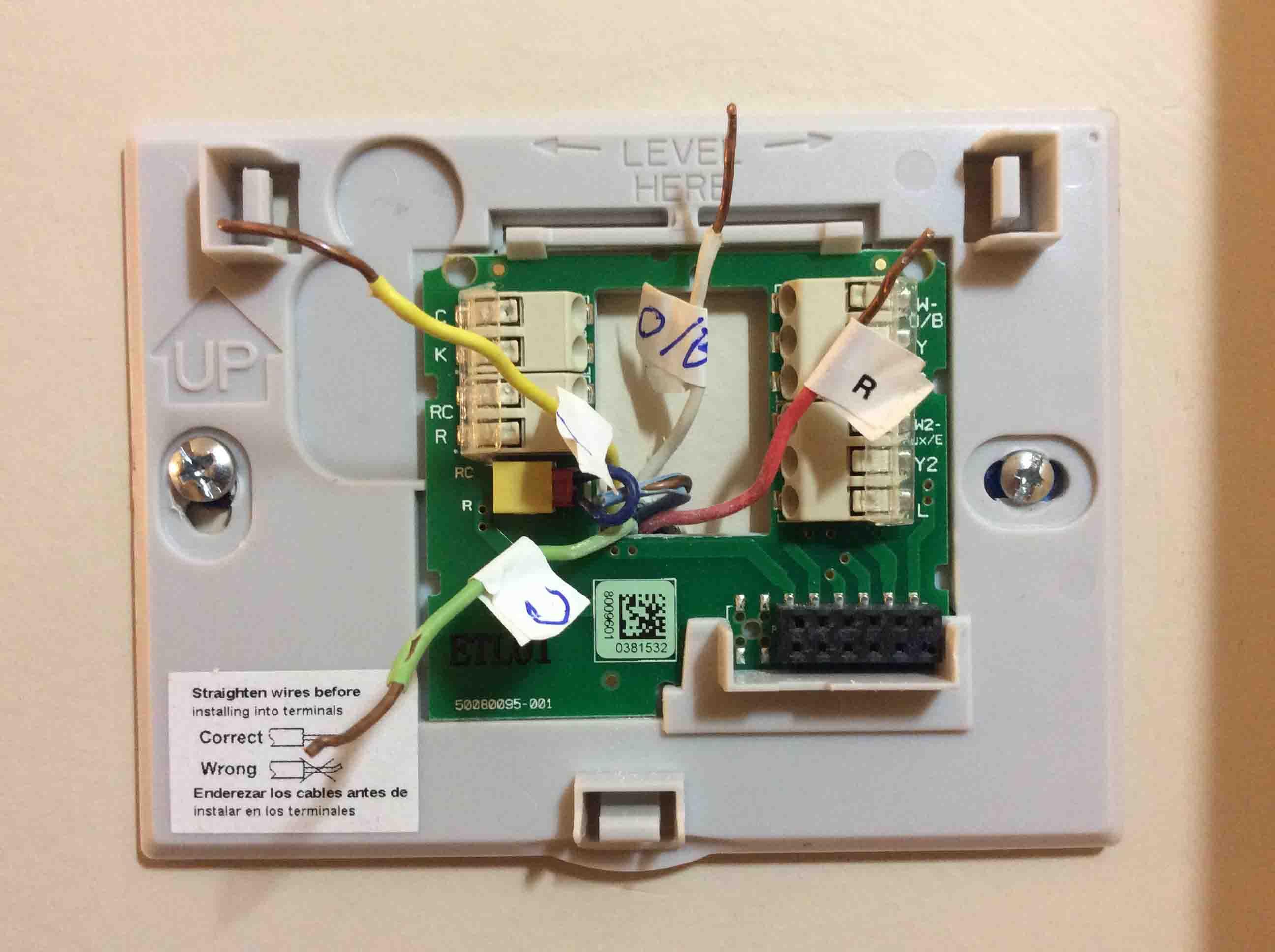 Honeywell Th9320wf5003 Wiring Diagram