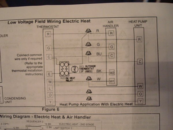 Honeywell Thermostat Pro 3000 Wiring Diagram