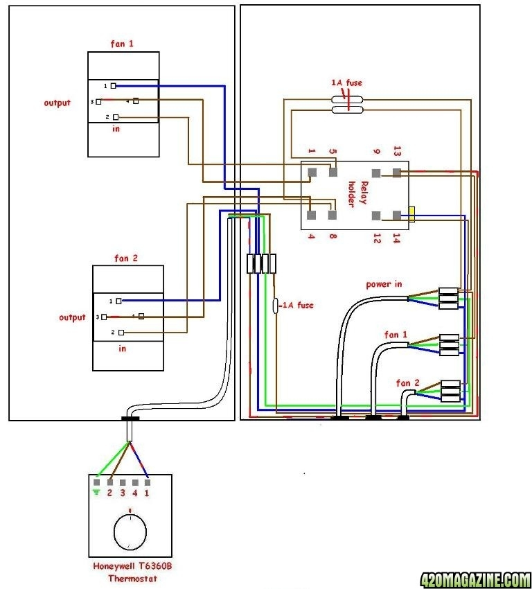 Honeywell Thermostat Rth221b Wiring Diagram