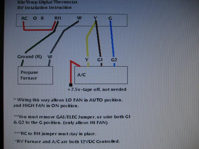 Dometic Digital Thermostat Wiring Diagram from schematron.org