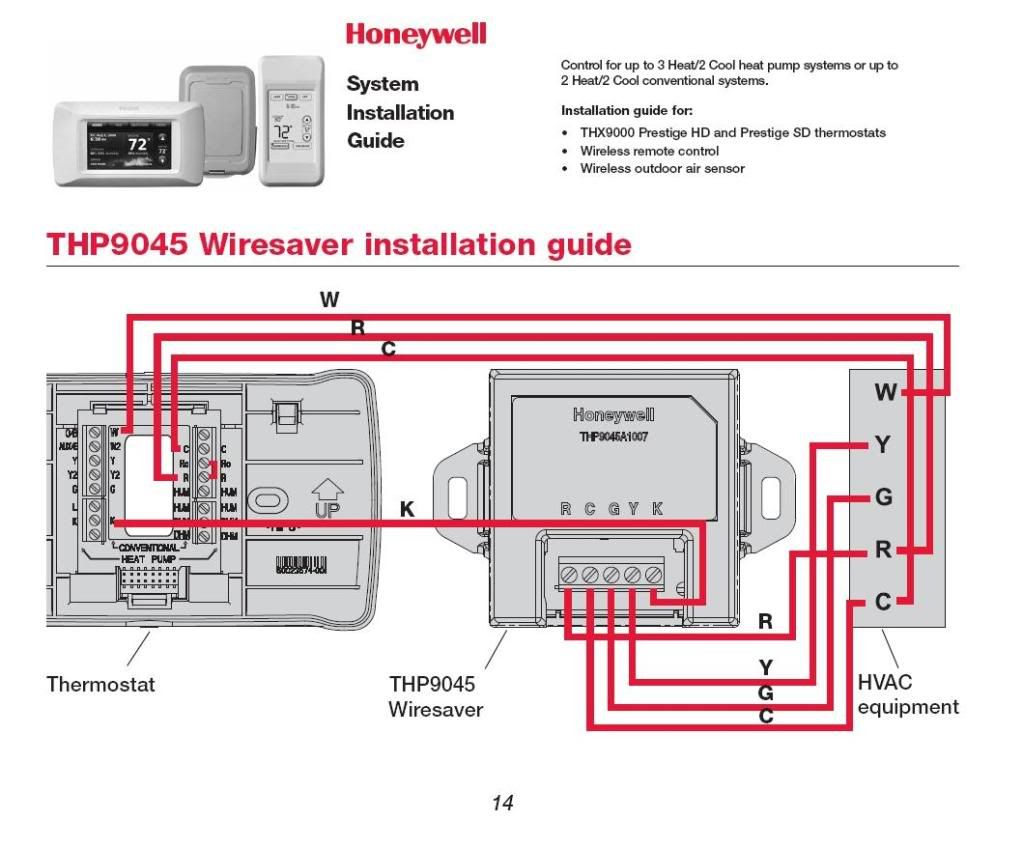 Honeywell Thermostat Th4210d1005 Wiring Diagram