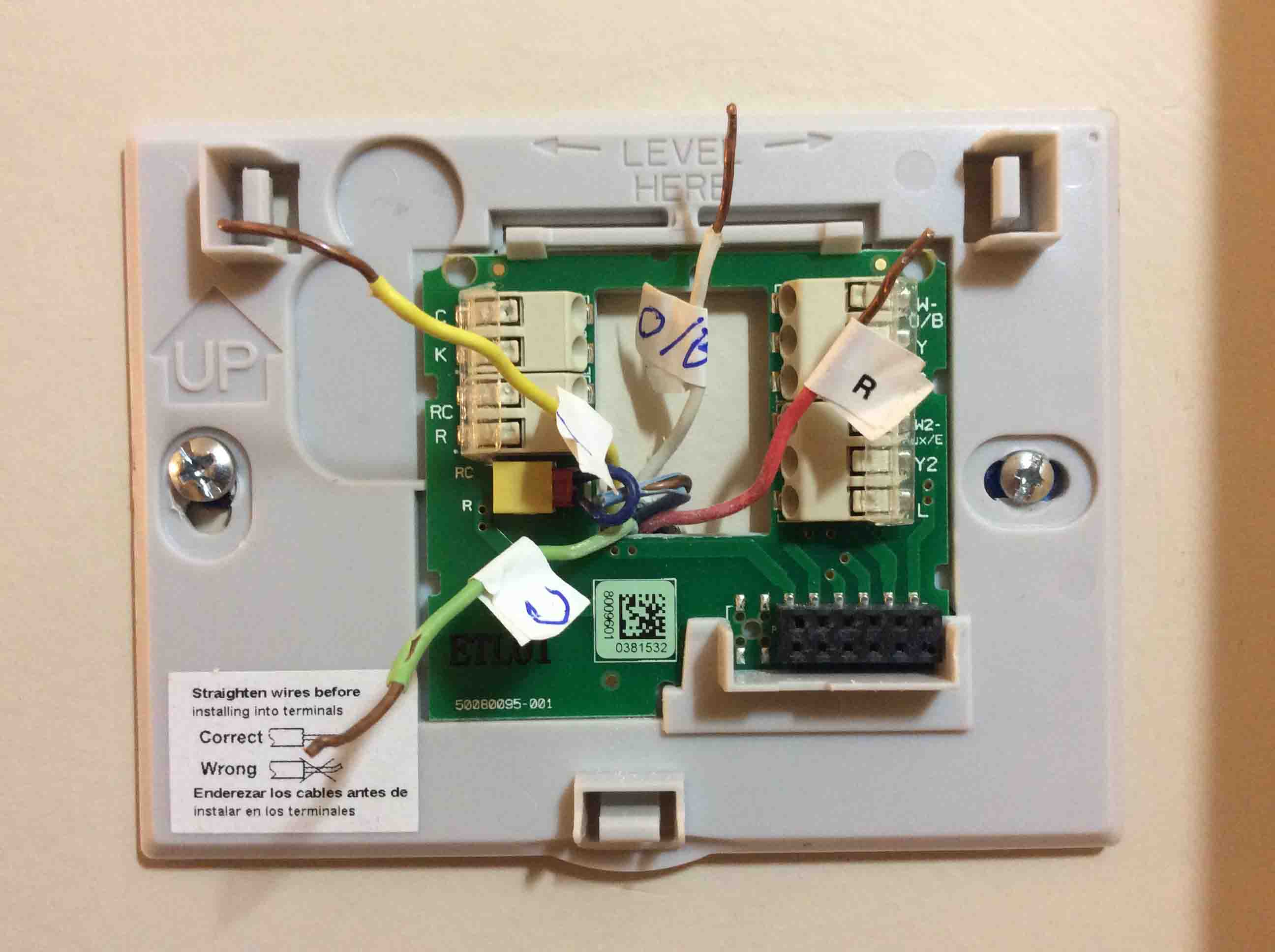 Honeywell Thermostat Wifi Wiring Diagram